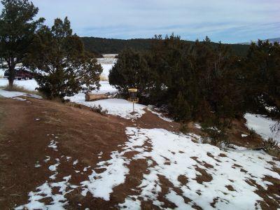 Colorado Mountain College, Glenwood, Main course, Hole 18 Short approach
