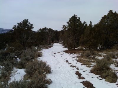 Colorado Mountain College, Glenwood, Main course, Hole 11 Tee pad