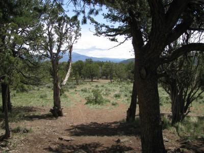 Colorado Mountain College, Glenwood, Main course, Hole 14 Tee pad