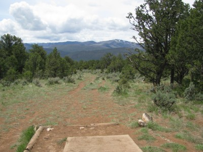Colorado Mountain College, Glenwood, Main course, Hole 10 Tee pad