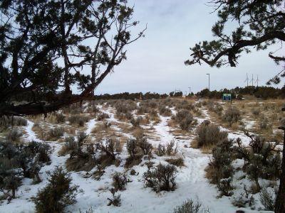 Colorado Mountain College, Glenwood, Main course, Hole 6 Tee pad