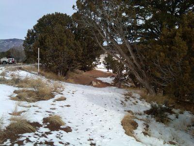 Colorado Mountain College, Glenwood, Main course, Hole 18 Tee pad