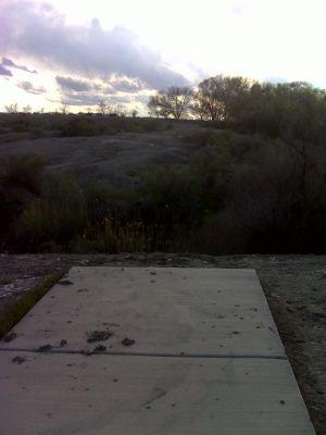 Matchett Park, Main course, Hole 4 Tee pad