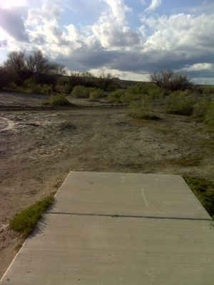 Matchett Park, Main course, Hole 1 Tee pad