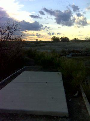 Matchett Park, Main course, Hole 9 Tee pad