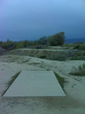 Matchett Park, Main course, Hole 17 Tee pad