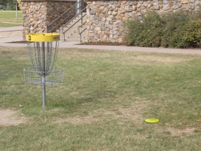 University of N. Colorado, Main course, Hole 3 Putt