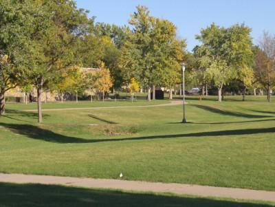 University of N. Colorado, Main course, Hole 1 Tee pad