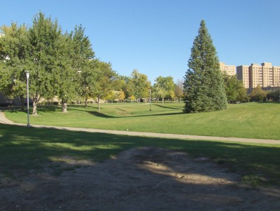 University of N. Colorado, Main course, Hole 1 Tee pad