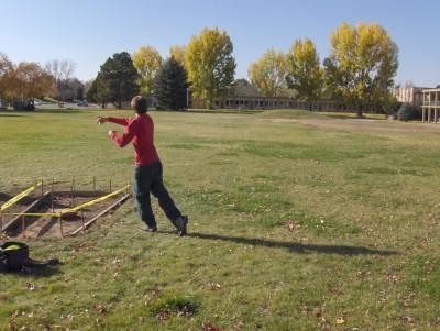 University of N. Colorado, Main course, Hole 8 Tee pad
