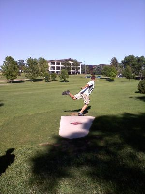 University of N. Colorado, Main course, Hole 7 Tee pad