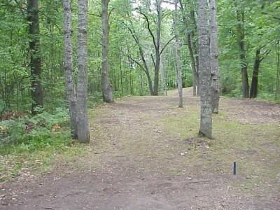 Northend Riverside Park, East course, Hole 9 Long tee pad