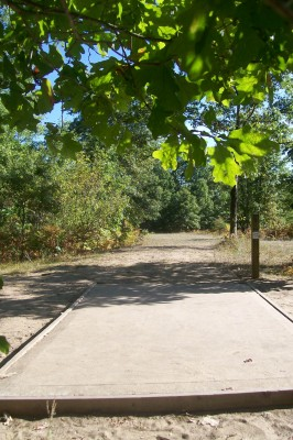 Northend Riverside Park, East course, Hole 3 Tee pad