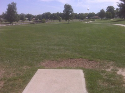 Loomiller, Main course, Hole 2 Tee pad