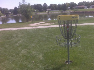 Loomiller, Main course, Hole 2 Reverse (back up the fairway)