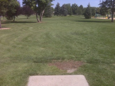 Loomiller, Main course, Hole 7 Tee pad