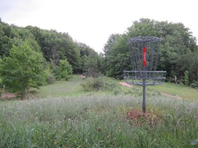 Avalanche Preserve Recreation Area, Main course, Hole 17 Reverse (back up the fairway)