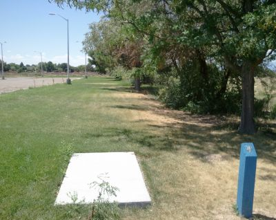 CSU Pueblo, Main course, Hole 4 Long tee pad