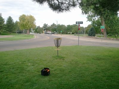 Pueblo City Park, Main course, Hole 9 Putt
