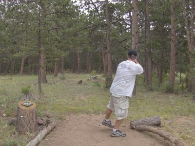 Sundance Trail Ranch, Main course, Hole 17 Tee pad