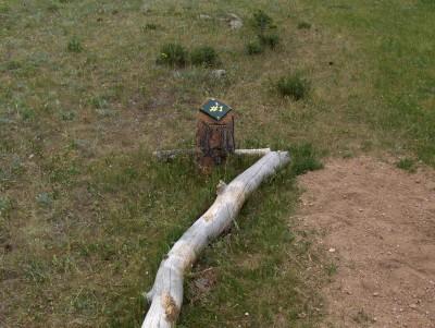 Sundance Trail Ranch, Main course, Hole 1 Tee pad