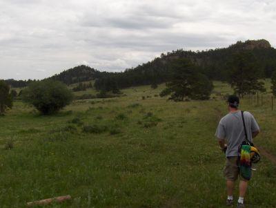 Sundance Trail Ranch, Main course, Hole 5 Tee pad