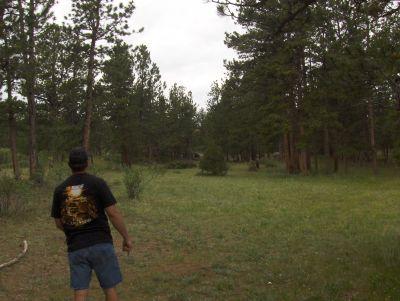 Sundance Trail Ranch, Main course, Hole 3 Tee pad