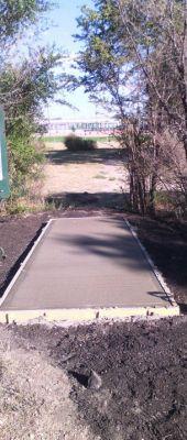 Pioneer Park DGC, Main course, Hole 7 Tee pad