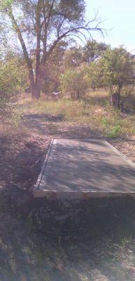 Pioneer Park DGC, Main course, Hole 10 Tee pad