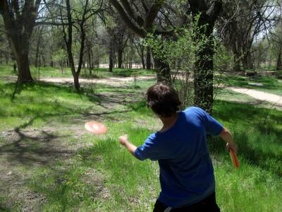 Pioneer Park DGC, Main course, Hole 12 Short approach
