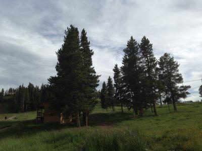 Adventure Ridge, Main course, Hole 9 Tee pad