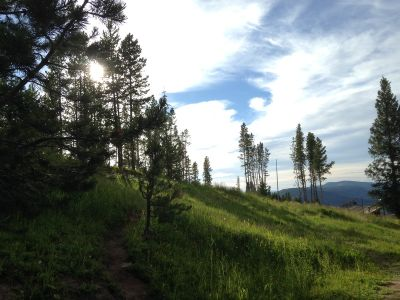 Adventure Ridge, Main course, Hole 18 Tee pad