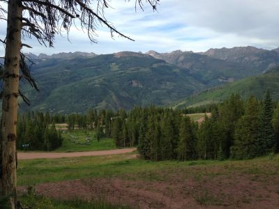 Adventure Ridge, Main course, Hole 15 Tee pad
