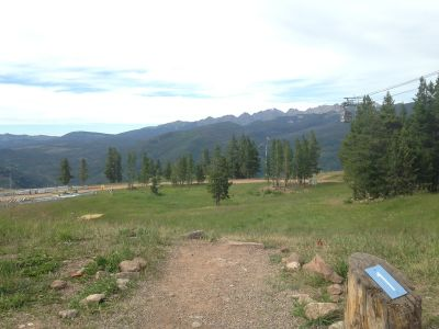 Adventure Ridge, Main course, Hole 1 Tee pad