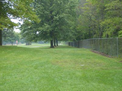 Lake Township Park, Main course, Hole 3 Tee pad