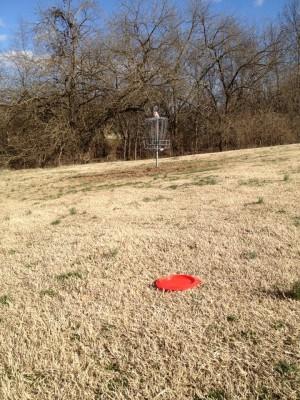 Crockett Park, Main course, Hole 2 Short approach