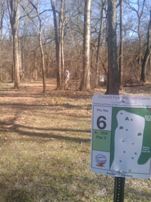 Crockett Park, Main course, Hole 6 Long tee pad