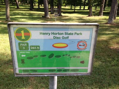 Henry Horton State Park, Main course, Hole 1