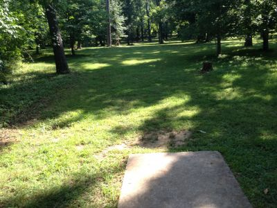 Henry Horton State Park, Main course, Hole 15 Tee pad
