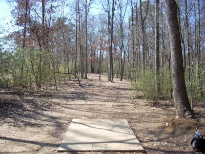 The Sinks, Main course, Hole 1 Long tee pad