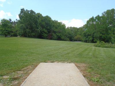 Cane Creek Park, Main course, Hole 4 Tee pad