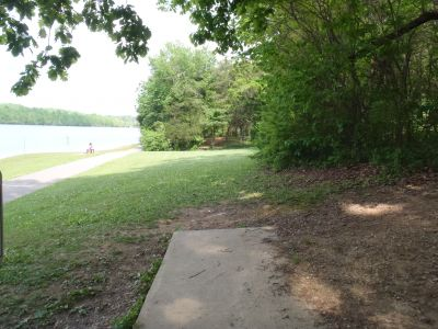 Cane Creek Park, Main course, Hole 15 Tee pad
