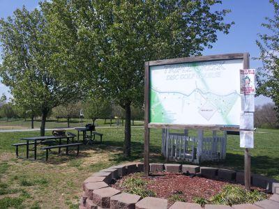 Triple Creek Park, Main course, Hole 1