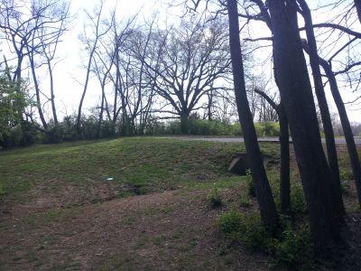 Triple Creek Park, Main course, Hole 7 Midrange approach