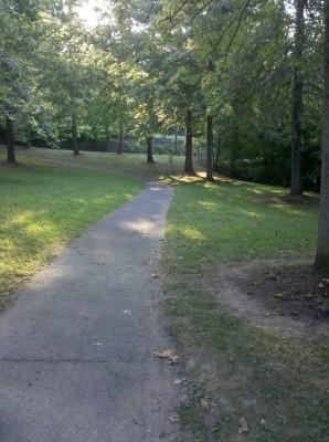 Mills Park, Main course, Hole 3
