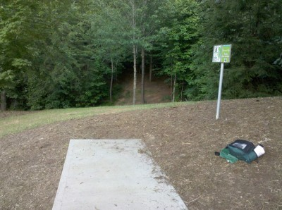 Mills Park, Main course, Hole 8