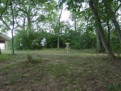 Sanders Ferry Park, Main course, Hole 7 Midrange approach
