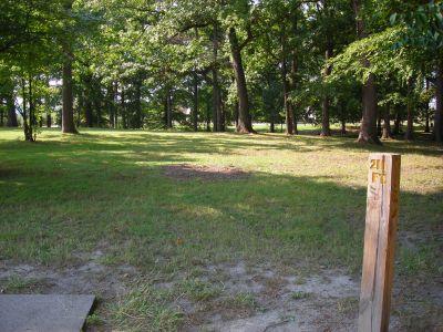 Borden Park, Main course, Hole 13 Tee pad