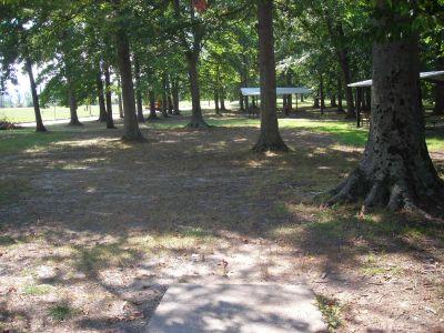 Borden Park, Main course, Hole 6 Tee pad