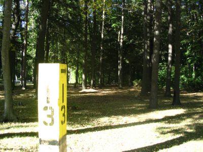 Kenwood Heritage Park, Main course, Hole 13 Tee pad